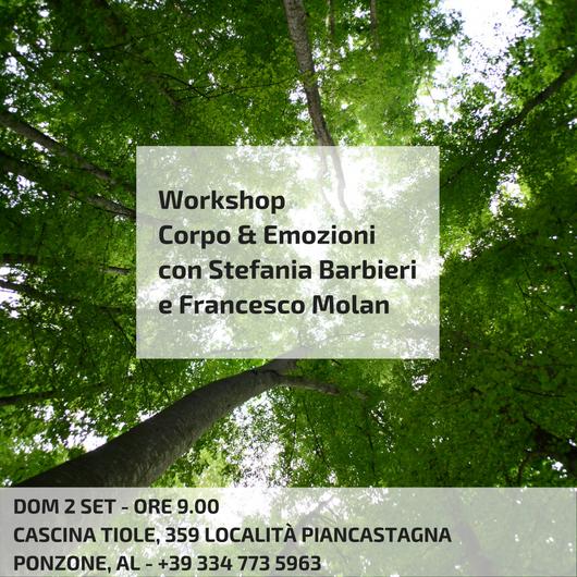 Workshop Corpo & Emozioni