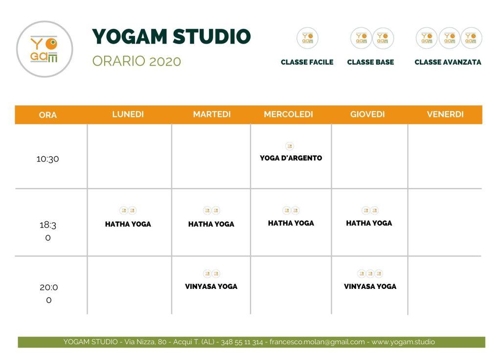 orari yoga acqui terme